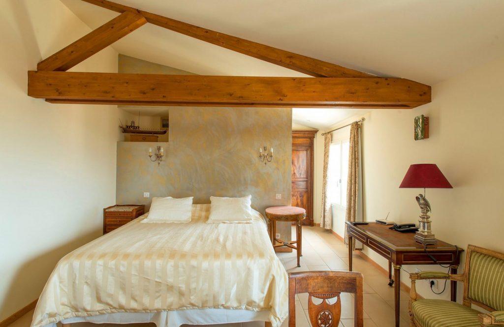 chambre de l'hôtel Casa Murina